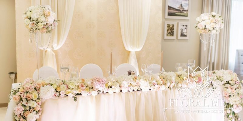 婚禮場地佈置